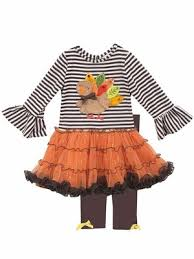 editions for brown stripes orange tutu thanksgiving