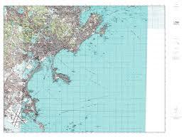 Essex County Map Paper Laminated Mytopo Lynn Massachusetts Usgs Quad Topo Map