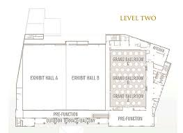 Orange County Convention Center Floor Plan Galveston Island Convention Center At The San Luis Resort Facility