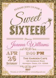 simple sweet sixteen invitation card 82 about remodel wedding