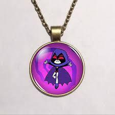aliexpress buy teen titans raven vintage fashion necklace