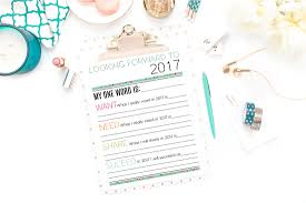 Goal Worksheets For Adults Printable New Year U0027s Resolutions And Goals