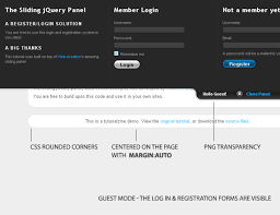 tutorial css php registration and login system php mysql and jquery tutorial web