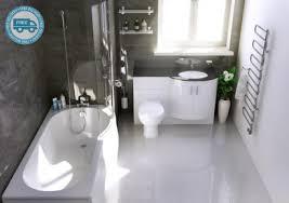 B Q Bathrooms Showers L P Shaped Shower Bath Suites Screen Bathshop321
