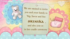 app to make invitations cradle naming ceremony whatsapp invitation youtube
