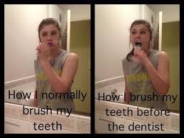 Braces Meme - orthodontic jokes 22 hahah brushing teeth before meeting the