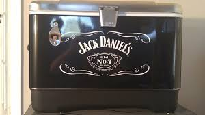 Trinity Stainless Steel Cooler by Igloo Jack Daniels 7 Tailgating 54 Quart Stainless Steel Ice