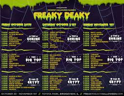 halloween dj set freaky deaky halloween chicago tickets n a at toyota park 2016