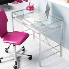 tables mainstays glass office top desk multiple colors silver
