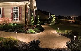 outdoor lighting landscape lighting st louis ballwin mo