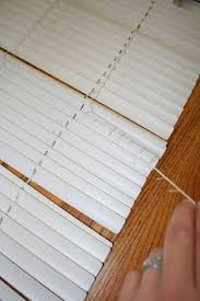 Tan Mini Blinds If You Have A Window That Needs Covering And A Set Of Old Mini