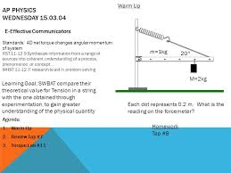 ap physics monday standards ppt video online download