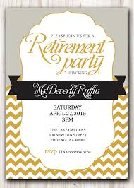 free retirement flyer template free retirement invitation