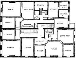double flat floor plan clipart etc