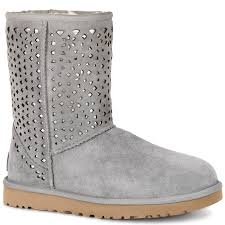 amazon com ugg australia womens ugg s flora perf light grey water resistant