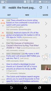 reddit for android featured top 10 reddit browsing apps for android march 2016