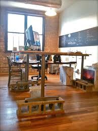 Stand Up Desk Diy by Adjustable Standing Desk Diy