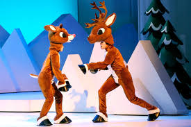 rudolph the nosed reindeer characters rudolph the musical the original television classic comes to