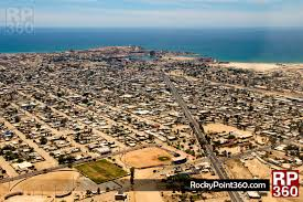 Puerto Penasco Map Puerto Peñasco Vista Aerea U2013 Rocky Point 360