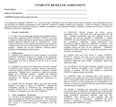 13 free sample private label agreement templates u2013 printable samples