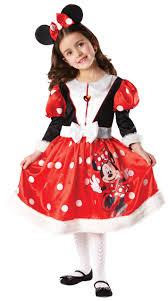 minnie mouse winter wonderland kids disney girls fancy dress kids