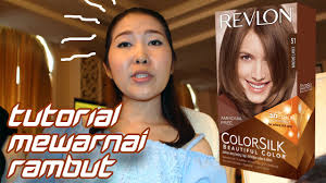 gambar tutorial ombre rambut tutorial cara mewarnai rambut menggunakan revlon colorsilk youtube