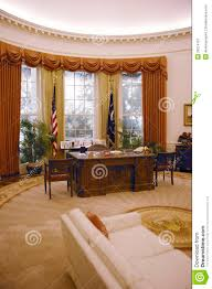 replica of the white house oval office editorial photo image