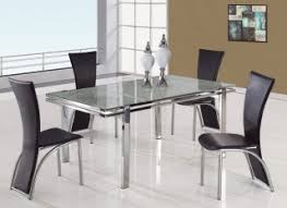 Metal Leg Dining Chairs Leatherette High Back Dining Chair With Metal Legs Tampa Florida