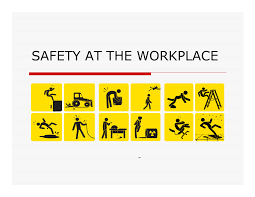 safety in the workplace is a right not a privilege