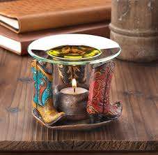 cowboy boots oil warmer wholesale at eastwind wholesale gift