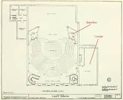fox theater floor plan civil war blog the architecture of ford s theatre laura keene