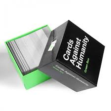 cards against humanity for sale cards against humanity green box on sale cah colorful series