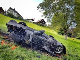 laferrari crash richard hammond crashes a rimac concept one while filming for the