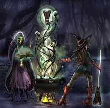 halloween supernatural background harvest magic wall print 8x10 by steelgoddess on etsy halloween