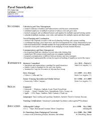 Resume Section Headings The Functional Resume Agoodresume