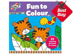 10 colouring books kids independent