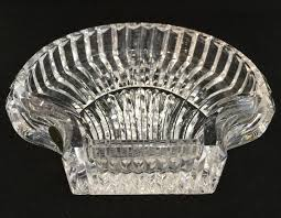 Waterford Crystal Small Vase Waterford Crystal Small Sea Shell Dish Trinket Tray No Box On Tradesy