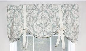 Tie Up Valance Curtains Coronet Tie Up Valance Rlf Home