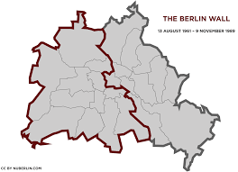 Map Of Berlin Germany by The Berlin Wall 1961 U20131989 Things To Do In Berlin Nuberlin