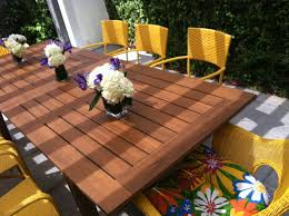 furniture 25 photos diy outdoor dining set designs diy outdoor