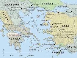 Sparta Greece Map by Super Apostles Part 1 Derek Leman
