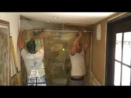 How To Fix Shower Door How To Install A Sliding Glass Shower Doors Tutorial