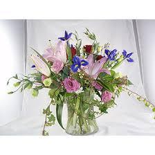 Traditional Flower Arrangement - flowerville inc traditional garden arrangement university heights
