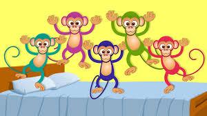 five little monkeys kids songs and nursery rhymes for children