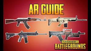 pubg guide playerunknown s battlegrounds ar guide pubg gun guide