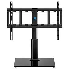 universal table top stand amazon com huanuo hn tvs02 universal table top tv stand for 32 to