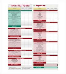 Household Budget Template Excel Simple Budget Template 10 Free Word Excel Pdf Documents