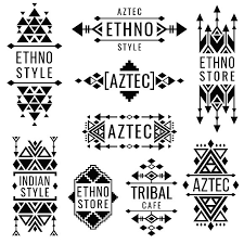 tribal mexican vector ornaments graphics creative market