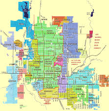 Tumbleweed Park Map New Improved Map Of The Cities And Towns In The Valley Of The Sun