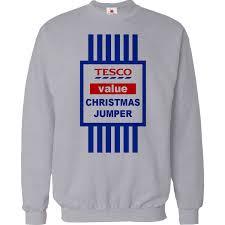 christmas jumper christmas jumper sweater mens tops tesco value sweat shirt